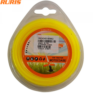 Fir trimmer 2.0mm (rotund) 15m Ruris 6-174